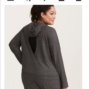 Torrid Active size 2 cutout back hoodie
